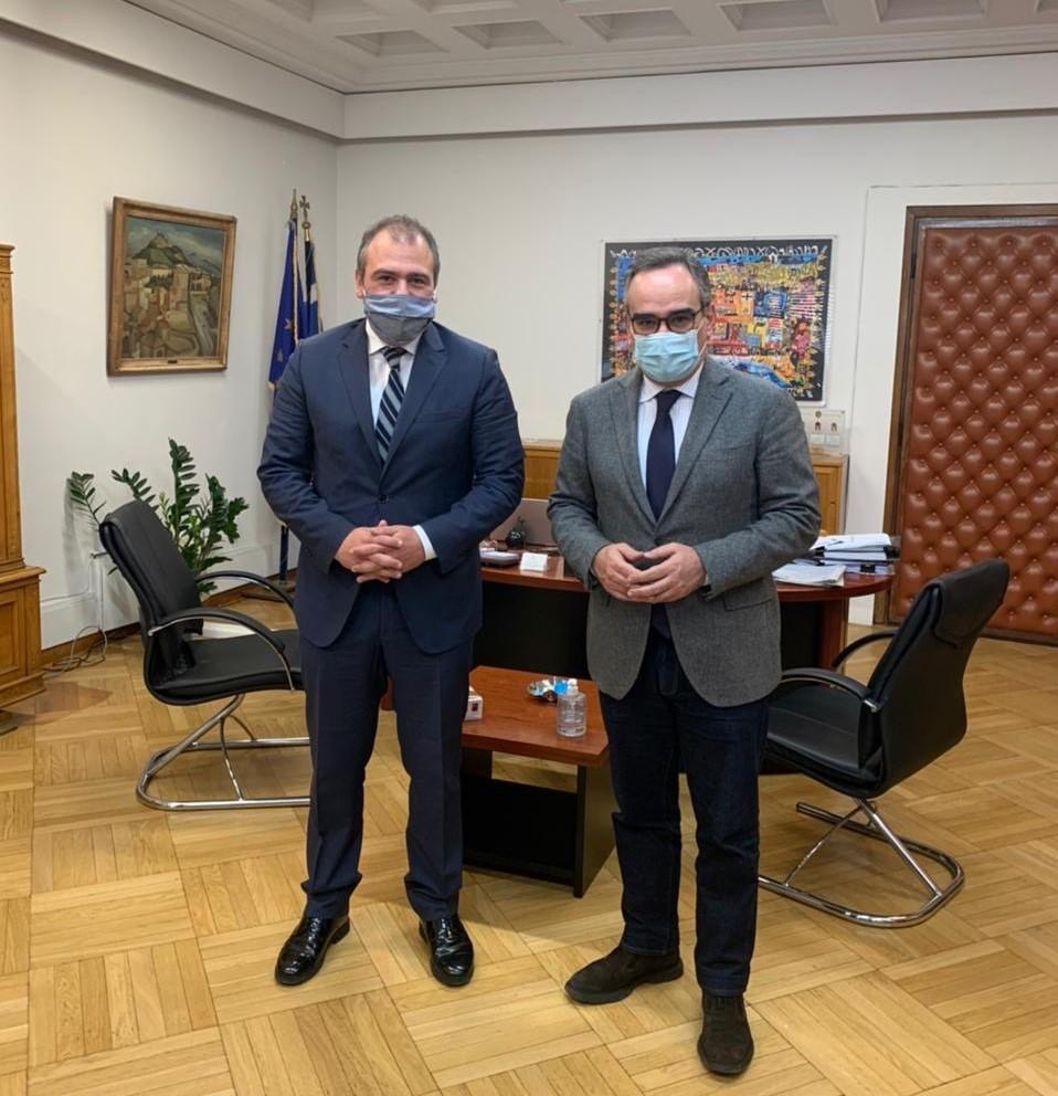 Συνάντηση του Φίλιππου Φόρτωμα με την ηγεσία του Υπουργείου Υγείας