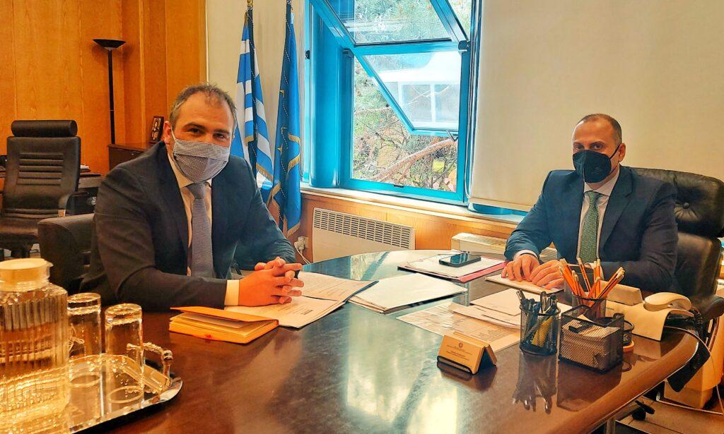 Στο Υπουργείο Υποδομών και Μεταφορών για τα αναπτυξιακά έργα των Κυκλάδων ο Φίλιππος Φόρτωμας