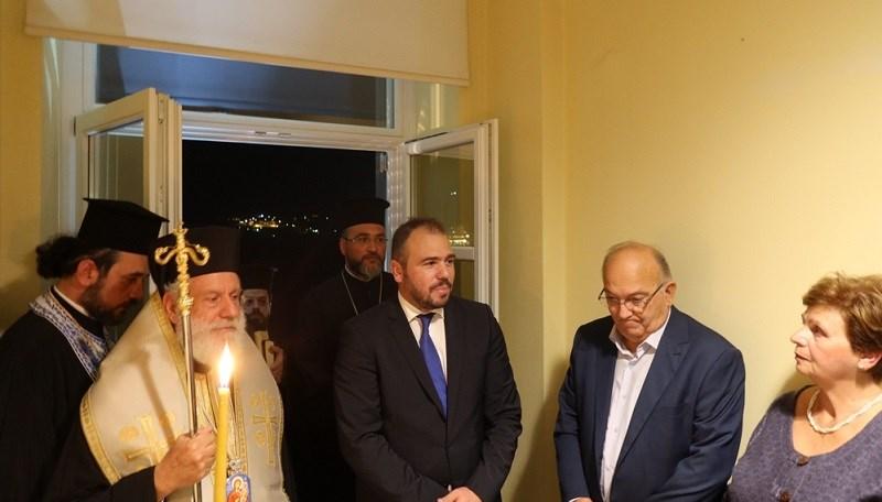 Τελετή εγκαινίων στο πολιτικό γραφείο της Σύρου