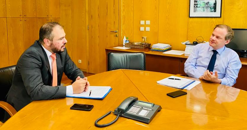 Στον Υπουργό Υποδομών & Μεταφορών  ο Φίλιππος Φόρτωμας