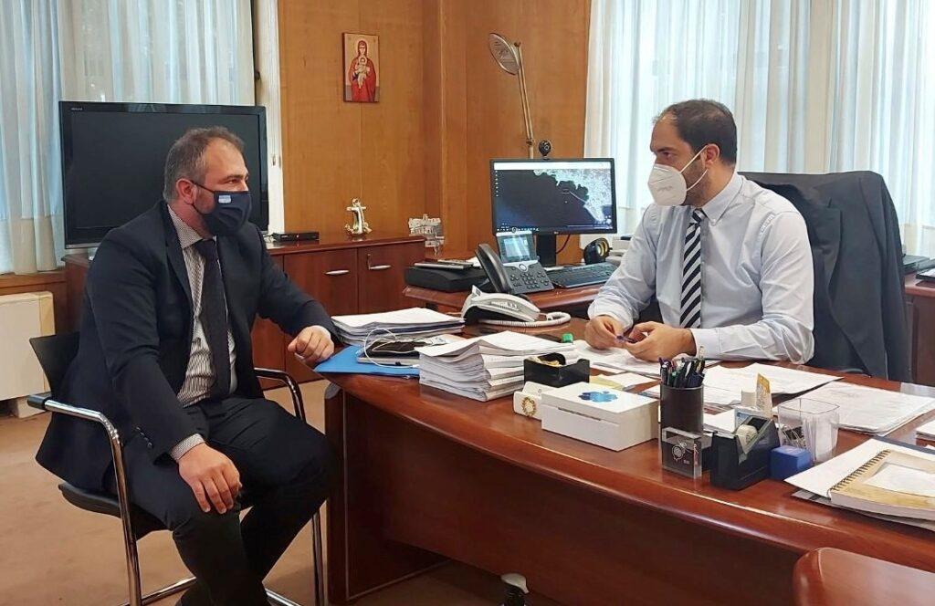 Συνάντηση του Φίλιππου Φόρτωμα με την ηγεσία του Υπουργείου Υποδομών και Μεταφορών για τα υδατοδρόμια