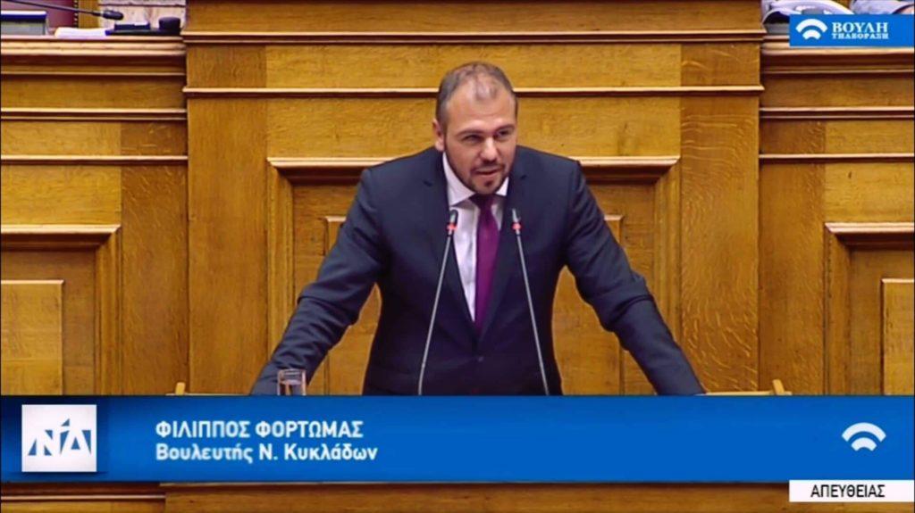 Ομιλία στην Ολομέλεια για το νέο αναπτυξιακό νομοσχέδιο (βίντεο)