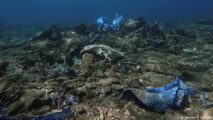 Στηρίζουμε την απορρύπανση του βυθού της Άνδρου και του Αιγαίου