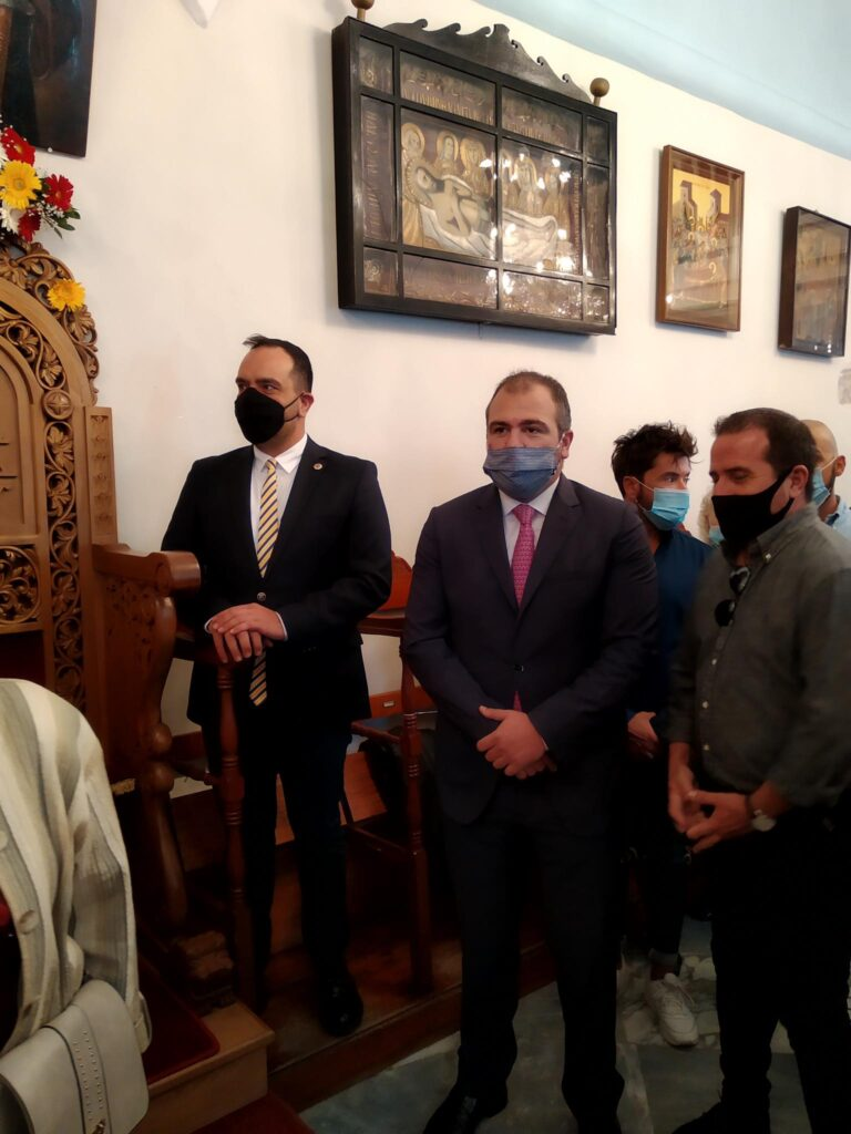 Επίσκεψη του Βουλευτή Κυκλάδων Φίλιππου Φόρτωμα σε Άνδρο και Μύκονο