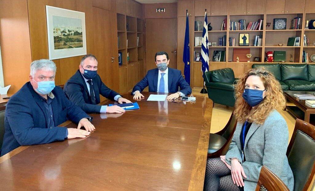 Συνάντηση Φίλιππου Φόρτωμα με τον Υπουργό Περιβάλλοντος και Ενέργειας κ. Κωνσταντίνο Σκρέκα